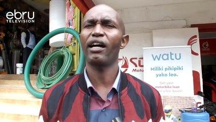 Thika Bodaboda Operators Protest Motorcycle Theft