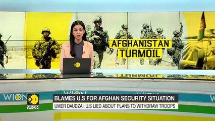 Afghanistan President's special envoy Umer Daudzai slams US _ World _ WION