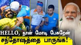 PM Modi dials captain Manpreet Singh after Indian men's Hockey team wins Bronze