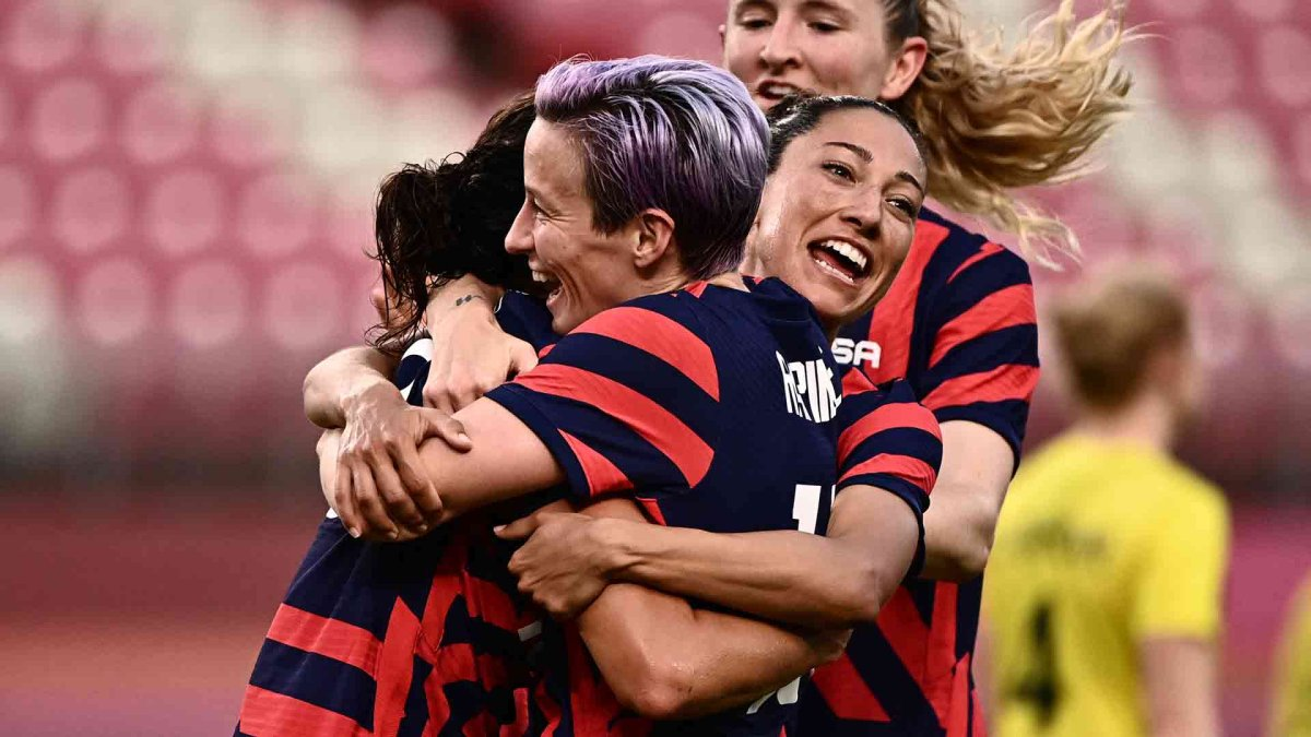 US Women's Soccer Wins Olympic Bronze