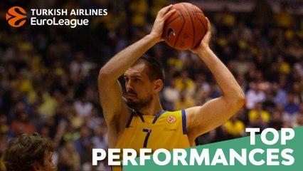 Top Performances, 2006-07: Nikola Vujcic, Maccabi Tel Aviv