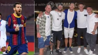 Lionel Messi next club: Barca star pictured with PSG's Neymar, Di Maria and Verratti