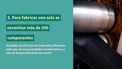 10 Datos curiosos sobre los neumáticos