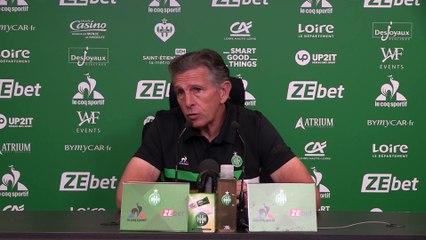 """Claude Puel : """"On a envie d'en découdre"""""""