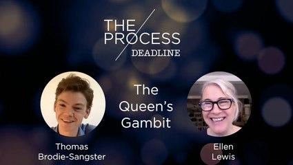 'The Queen's Gambit' Thomas Brodie-Sangster & Ellen Lewis   The Process