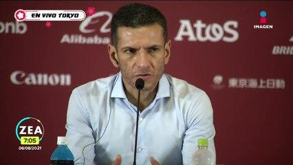 Conferencia de prensa del director técnico de la Selección