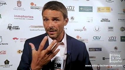 Entrevista a Luis Mottola, conocido actor, y presentador oficial del Festival Europeo de Cortometrajes Villamayor de Cine