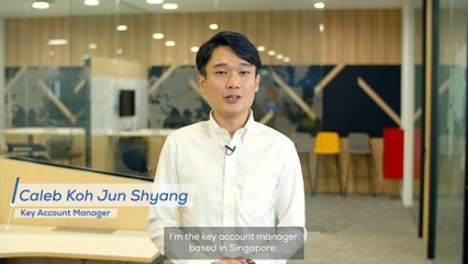 Our employees have talent - Caleb Koh Jun Shyang