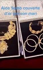 Cadeaux de valeur : Aïda Samb couverte d'or par son mari