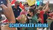 'Olympic Golden Girl Tatjana Schoenmaker Arrives Back in SA to Hero's Welcome'