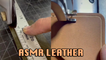 'ASMR   Crunchy Compilation Shows the Soothing Process of Leather Crafting *14 Million Views* '