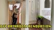 'DIY Bathroom Renovation   Bathroom Renovation from Start to Finish!'