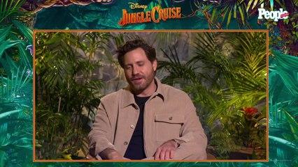 Edgar Ramírez habla sobre su participación en Jungle Cruise
