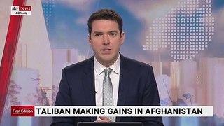 Taliban making gains in Afghanistan