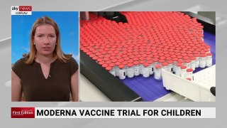 Australia could be part of Moderna vaccine trial for children