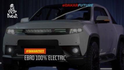 DAKAR FUTURE – Ebro 100% electric