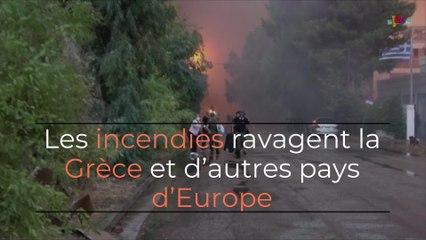 La Grèce ravagée par les incendies