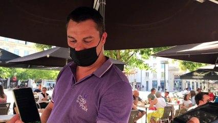 Dans la Vienne, les forces de l'ordre contrôlent les pass sanitaires dans les cafés-restaurants de Poitiers et alentours