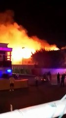 Gran incendio se registra en Hotel Iberostar
