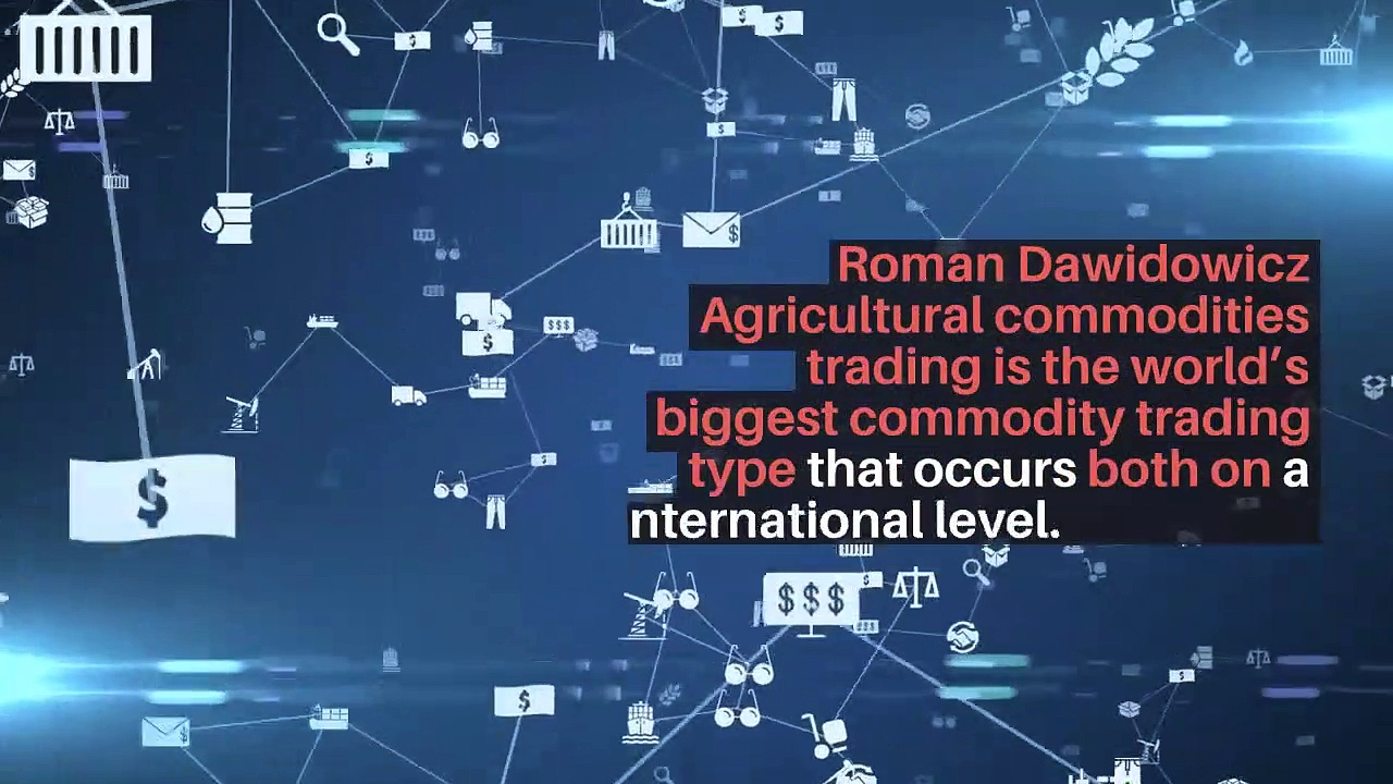 Roman Zenon Dawidowicz   Agricultural Commodities Trading