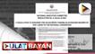 """Go-Duterte tandem, napagkasunduang magpapatuloy ng """"tapang at malasakit"""" sa 2022 Nat'l elections ayon sa resolusyon ng PDP-Laban; Sen. Go, iginiit na 'di siya interesado sa pagkapangulo; Tarpaulin at billboards na mula sa supporters ni Mayor Sara Duterte"""