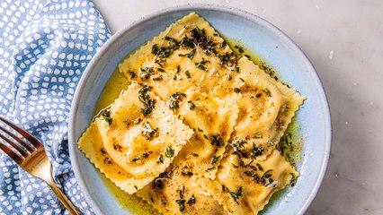Butternut Squash Ravioli Is Fall Dinner Goals