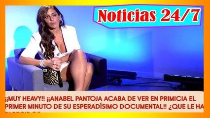 Anabel Pantoja se va del pl@tó de 'Sálvame' tras ver el primer minuto de su documental