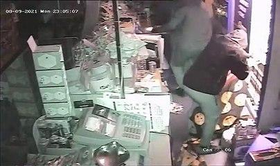 Raiders loot Moorside store in Aspull