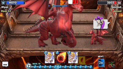 Castle Crush  OMG - The LARGEST DRAGON EVER  No friendly Battle - Real Gameplay