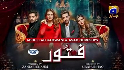 Fitoor EP 43 - English Subtitle - 13th August 2021 - HAR PAL GEO