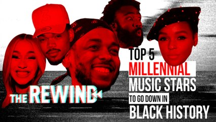 The Top 5 Millennial Music Stars- Black History Month