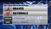 Braves @ Nationals Game Preview for AUG 13 -  7:05 PM ET