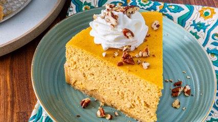 Keto Pumpkin Cheesecake Is Always A Fall Favorite