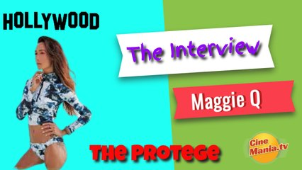 The Protege: Maggie Q Interview (Captioned )