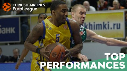 Top Performances, 2010-11: Keith Langford, Khimki Moscow Region