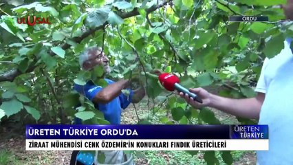 Üreten Türkye - 14 Ağustos 2021 - Cenk Özdemir - Ordu - Ulusal Kanal