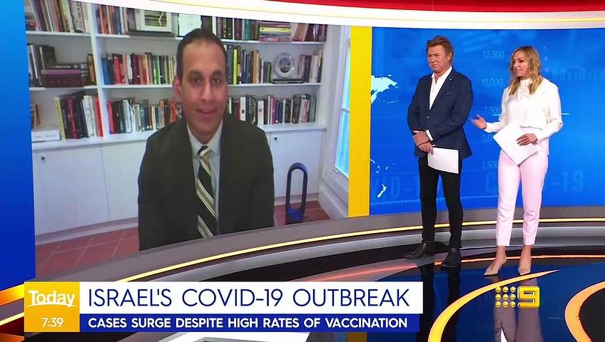 Israel administers third Pfizer vaccine _ Coronavirus _ 9 News Australia