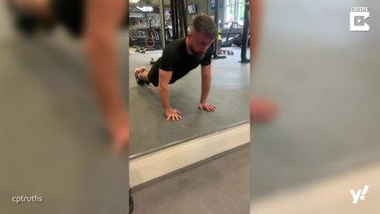 Mann mit schwerer Behinderung trainiert sechs mal die Woche