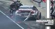 Brad Keselowski backs into the wall, ends his chances at Indy