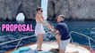 'BEST WEDDING PROPOSAL EVER! POPPING the QUESTION in Capri, Italy '