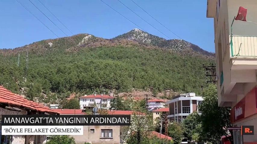 """Manavgat'ta yangının ardından: """"Böyle felaket görmedik"""""""