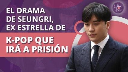 El drama de Seungri, de estrella de K-pop a prisión por delitos graves   Seungri's drama, from K-pop star to prison for serious crimes