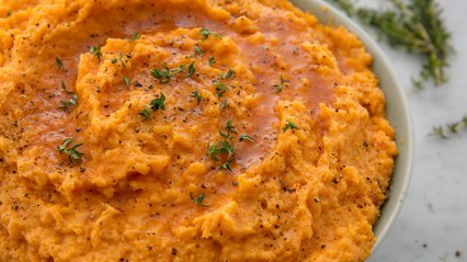 You Need To Turn Your Sweet Potatoes Into Mashed Potatoes