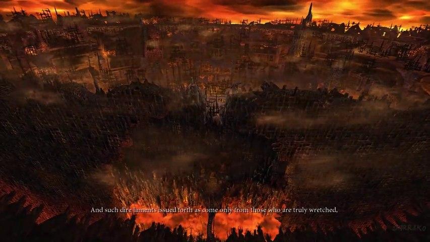 Dante's Inferno - Giant Demon Destroys Hell Scene (4K 60FPS) #Shirrako