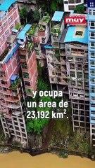 Así es Zhaotong, la ciudad más estrecha del mundo que se ubica en China