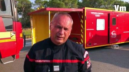 Après une deuxième nuit de combat contre les flammes, Éric Grohin fait un point sur l'incendie de Gonfaron