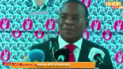 PASCAL AFFI N'GUESSAN CHARGE LAURENT GBAGBO