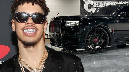 LaMelo Ball Creates Side Hustle By Renting Out His Rolls Royce To Women Who Want To FLEX On The Gram