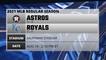 Astros @ Royals Game Preview for AUG 19 -  2:10 PM ET