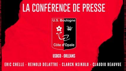 [NATIONAL] J3 Conférence de presse avant match USBCO - Orléans